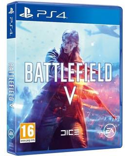 Battlefield V Ps4 - Fisico - Nuevo - Lanzamiento