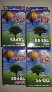 Combo Cartuchos 564xl Global X 4