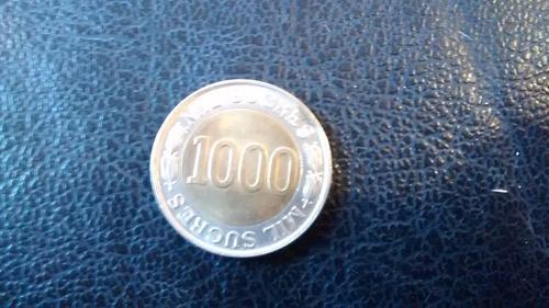 Moneda Ecuador 1000 Sucres Bimetalica 1927-1997 (z274