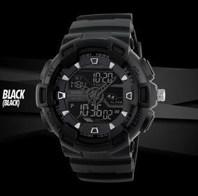 Relógio Camuflado Masculino Digital Shock Militar Esportivo