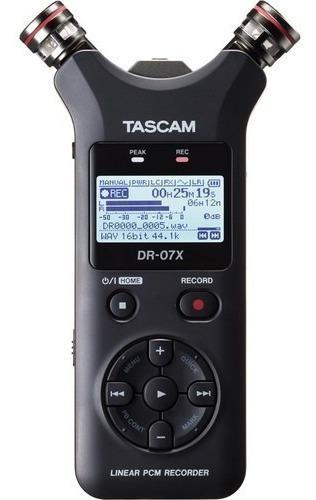Gravador Áudio Tascam Dr-07x 2 Entradas 12x S/juros