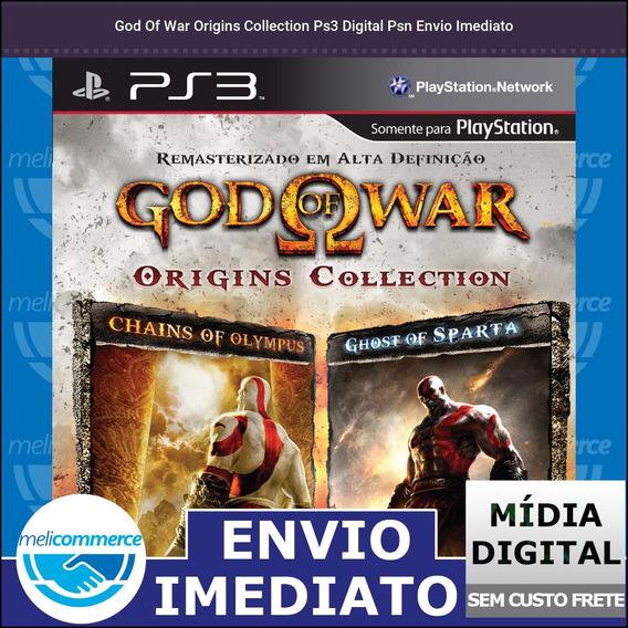 God Of War Origins Collection Ps3 Digital Psn Envio Imediato