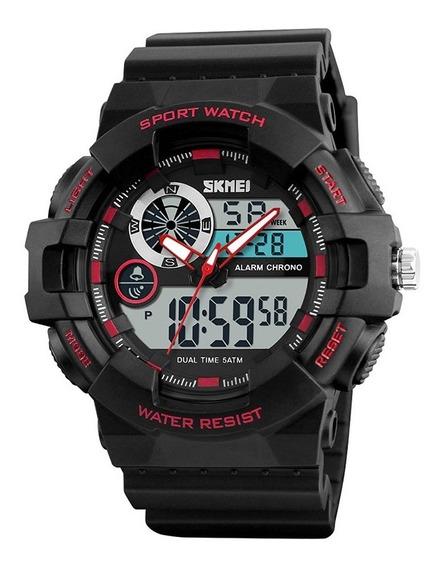 Relógio Masculino Esportivo Original Garantia Nf Promoção