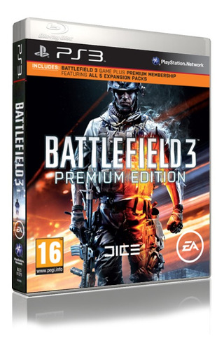 Battlefield 3: Premium Edition - Ps3