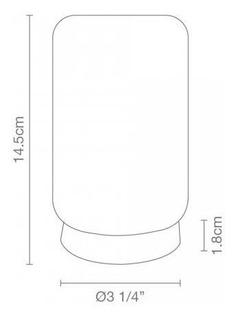 Pantalla R80 Opalina (vaso)
