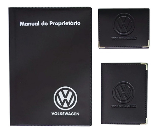 Kit Com Porta Manual Capas Carteiras Volkswagen