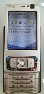 Nokia N95 - 8g, Wi-fi, Gps, Câmera 5mp
