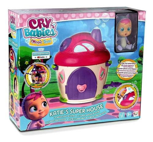 Muñeca Cry Babies Bebe Llorones  Mega Casa De Katie