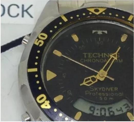 Relógio Pulso Technos Skydiver 50m Masculino T09457 Webclock