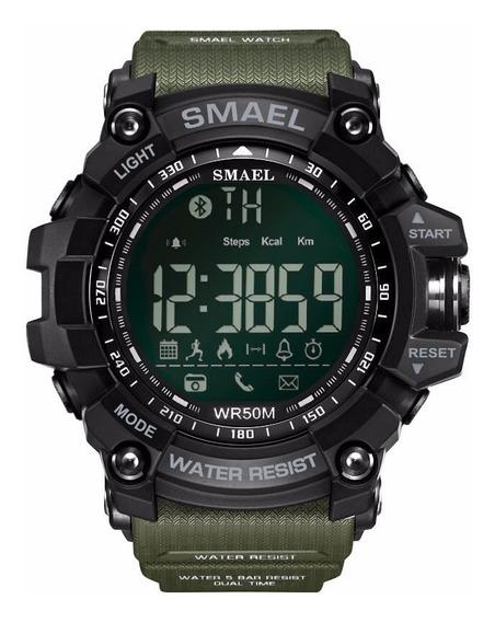 Smael Luxo Marca Inteligente Relógio Verde