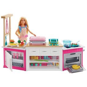 Barbie Cozinha De Luxo Ultimate Kitchen Frh73 Mattel