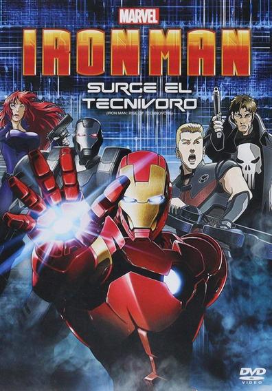Iron Man Surge El Tecnivoro Marvel Pelicula Animada Dvd