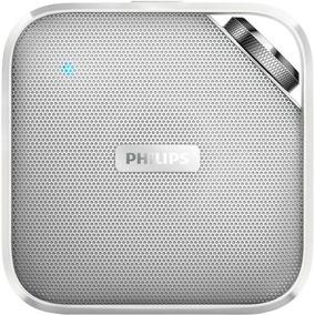 Caixa De Som Portátil Microfone 5 Horas De Bateria Philips