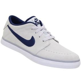 Tênis Nike Suketo Leather Azul Marinho/branco Masculino