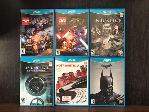 Juegos Wii U Como Nuevos