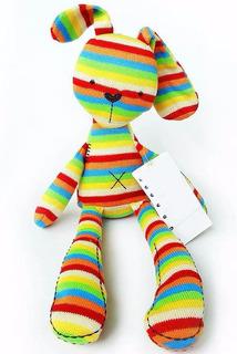 Conejo Felpa Peluche 50 Cms Decoración Colores 1 Unidad