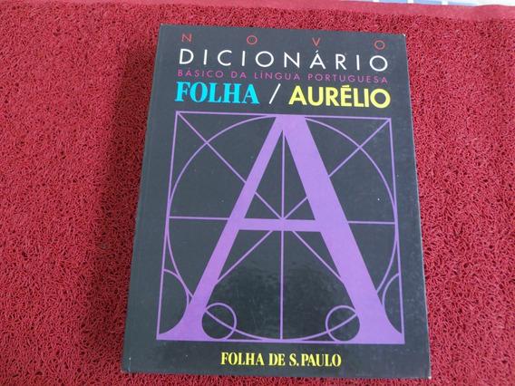Livro Usado Dicionario Folha Aurelio