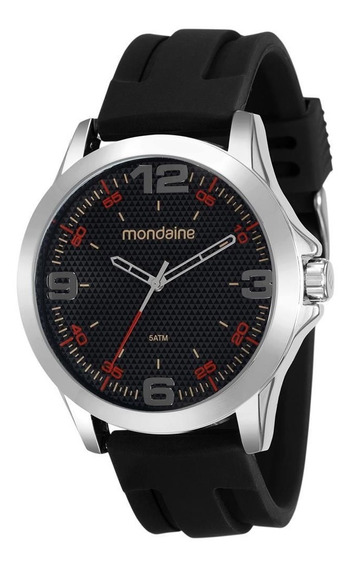 Relógio Mondaine Masculino 99188g0mvni2 Casual Original