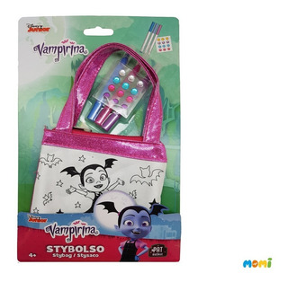 Mini Bolso Monedero Para Pintar Vampirina Tv Juguete Nena