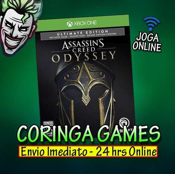 Assasins Creed Odyssei Ultimate Edition Xbox One + 2 Brinde
