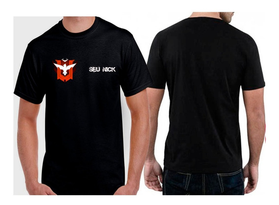 Camiseta Free Fire Mestre+ Nick