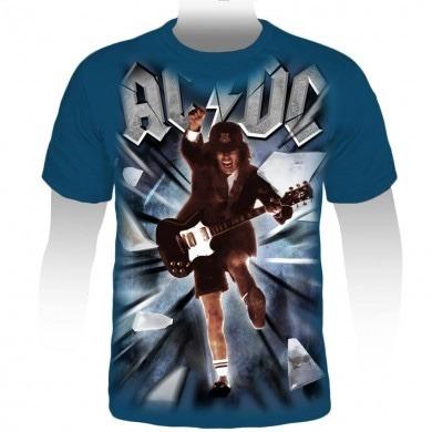 Camiseta Premium Ac/dc Blow Up Your