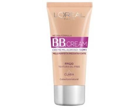 Kit 2 Bb Cream Loreal Pele Clara 30ml Creme Milagroso 5 Em 1