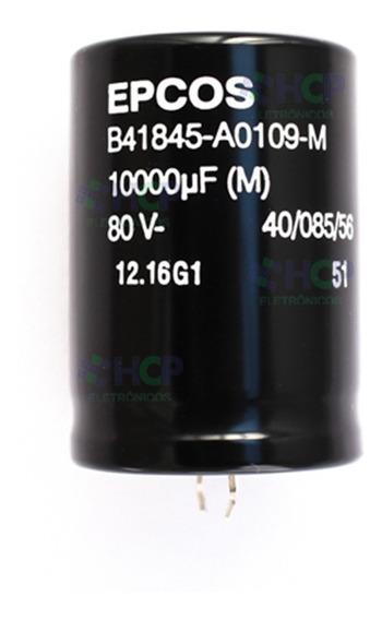 Capacitor Eletrolítico 10000uf 80v * 10.000uf Epcos Promoção