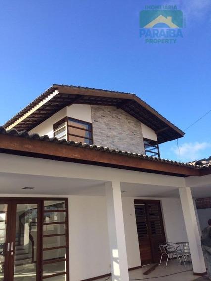 Casa Mobiliado Para Locação - Praia De Ponta De Campina - Cabedelo - Pb - Ca0209