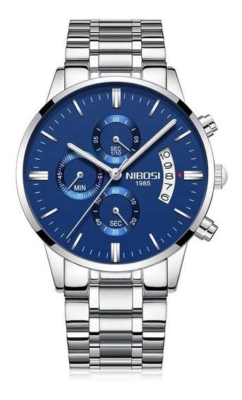 Relogios Nibosi Masculino Relógios Barato Promoção