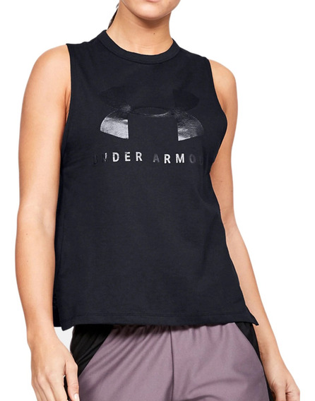 Remera Under Armour Training Sportstyle Graphic Mujer Ng