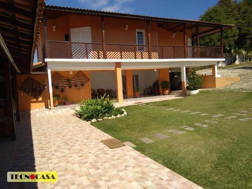 Maravilhosa Chácara Com 04 Dormitórios Com  5700 M² Para Vender Ou Alugar No Bairro Viçoso Em Araçariguama/sp - Ch0014