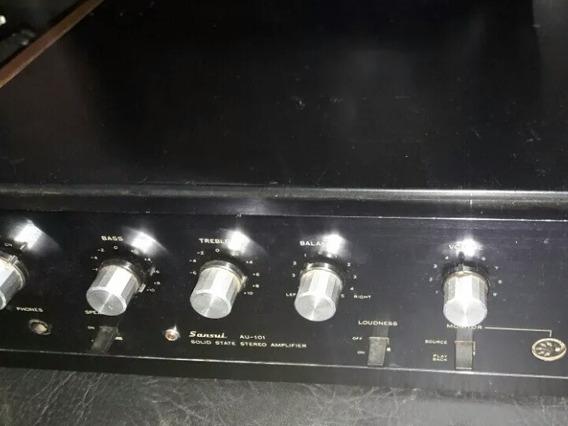 Amplificador Sansui Au101 Raridade Mosca Branca Promoção