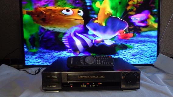Video Cassete Samsung Vm-k80 Hi Fi Stereo + Controle