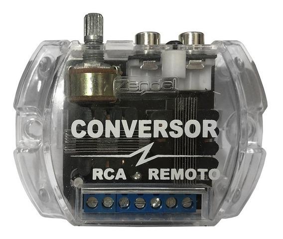 Conversor Rca Remoto 12v Zendel