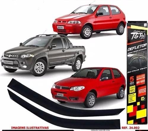 Calha De Chuva (defletor) Para Fiat Palio 96/11 2 Portas