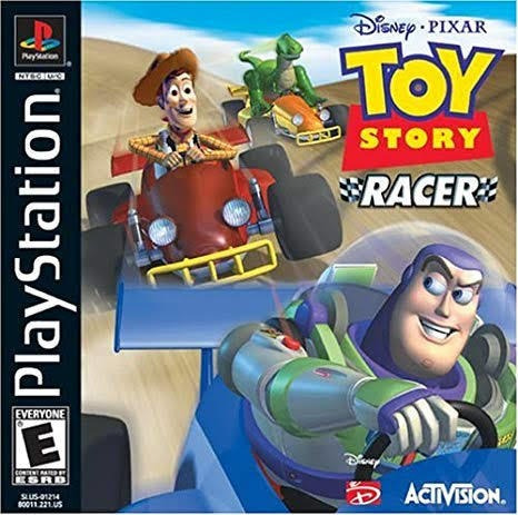 Toy Story Racer Para Playstation 1 - Patch