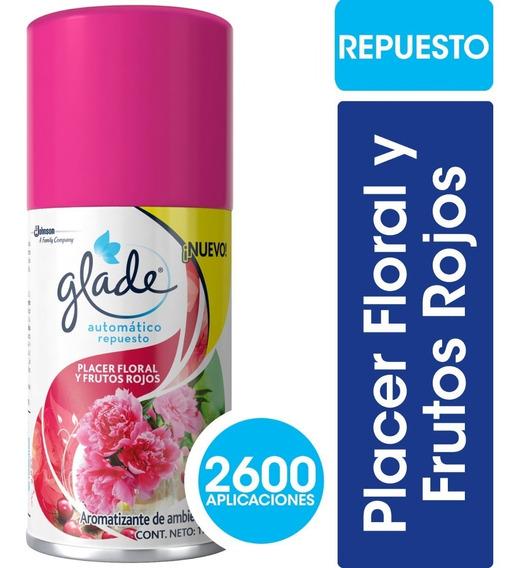 Repuesto Aromatizador Glade Placer Floral Y Frutos Rojos