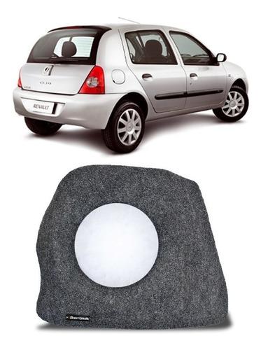 Caixa De Fibra Lateral Clio Hatch 00-19 P/ Falante De 10 12