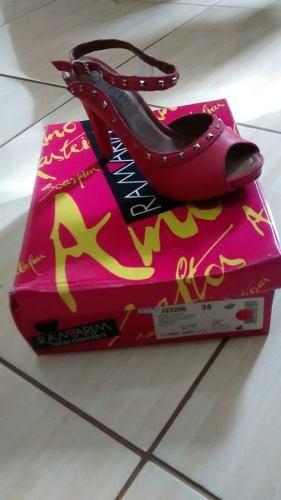 Sapato De Salto Ramarim N35 Comprei E Nunca Usei