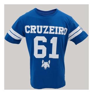 Camisa Cruzeiro 61 Times Futebol Promoção Zuação Futebol - Frete Grátis