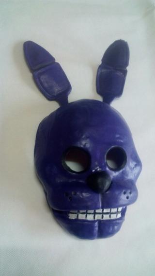 Mascara Latex Bonnie O Sprintang Animatronic Fnaf Terror