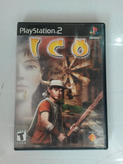 Jogo Ps2 Ico Usa Original Black Label