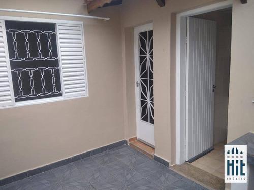 Casa Para Alugar, 55 M² Por R$ 1.500,00/mês - Sacomã - São Paulo/sp - Ca0255