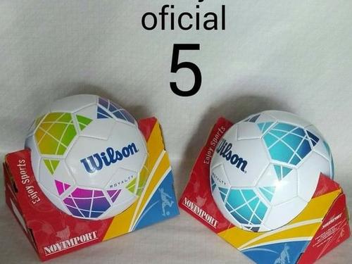 Imagen 1 de 2 de Pelotas, Balones De Foot Ball Wilson Royalty Nuevas.  Marca