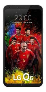 Celular Lg Q6+ 32gb Usado Smartphone Seminovo Preto Bom