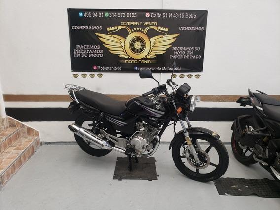 Yamaha Libero 125 Modelo 2016 Papeles Nuevos Traspaso Inclui