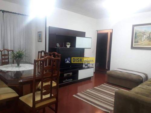Imagem 1 de 13 de Apartamento Com 3 Dormitórios À Venda, 93 M² Por R$ 495.000 - Vila Valparaíso - Santo André/sp - Ap2277