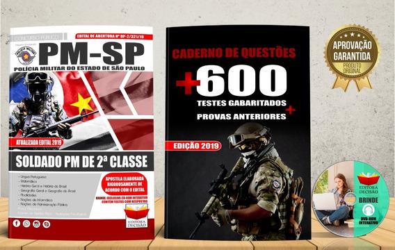 Apostila Soldado 2ª Classe Pm-sp Edital 2019 - Atualizada