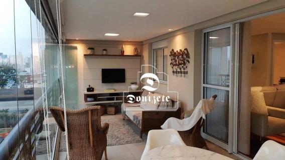 Apartamento À Venda, 165 M² Por R$ 1.550.000,00 - Jardim - Santo André/sp - Ap12011